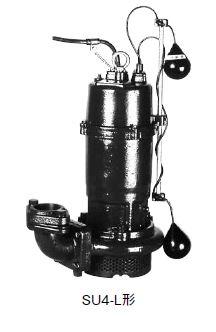 川本 汚水水中ポンプ 2極 50Hz【SU4-505-1.5L】着脱タイプ 三相200V 自動型 SU4形