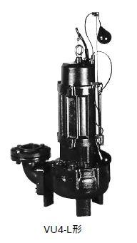 VU4 655 最安値挑戦 新作送料無料 2.2L 川本 汚物水中ポンプ 4極 50Hz 自動型 VU4-655-2.2L VU4形 ボルテックスタイプ フランジタイプ 三相200V