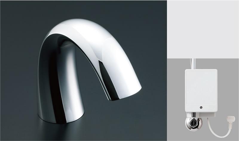 ▽INAX/LIXIL 洗面器・手洗器用自動水栓【AM-140C(100V)】オートマージュG 単水栓 100V仕様 排水栓なし