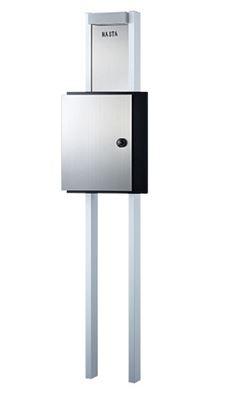 ####u.キョーワナスタ/NASTA【KS-GP04A-ENH-31オプション色】門柱ユニット インターホン無し仕様 LED照明付 受注約3週