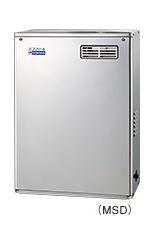 ###コロナ 石油給湯器【UIB-NE46P-S(MSD)】ボイスリモコン付属 給湯専用 貯湯式 据置型 屋外設置 前面排気 エコフィール (旧品番 UIB-NE46P(MSD))