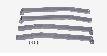 サンダイヤ オイルタンク 部品【95T-39F】脚セット ステンレスセット