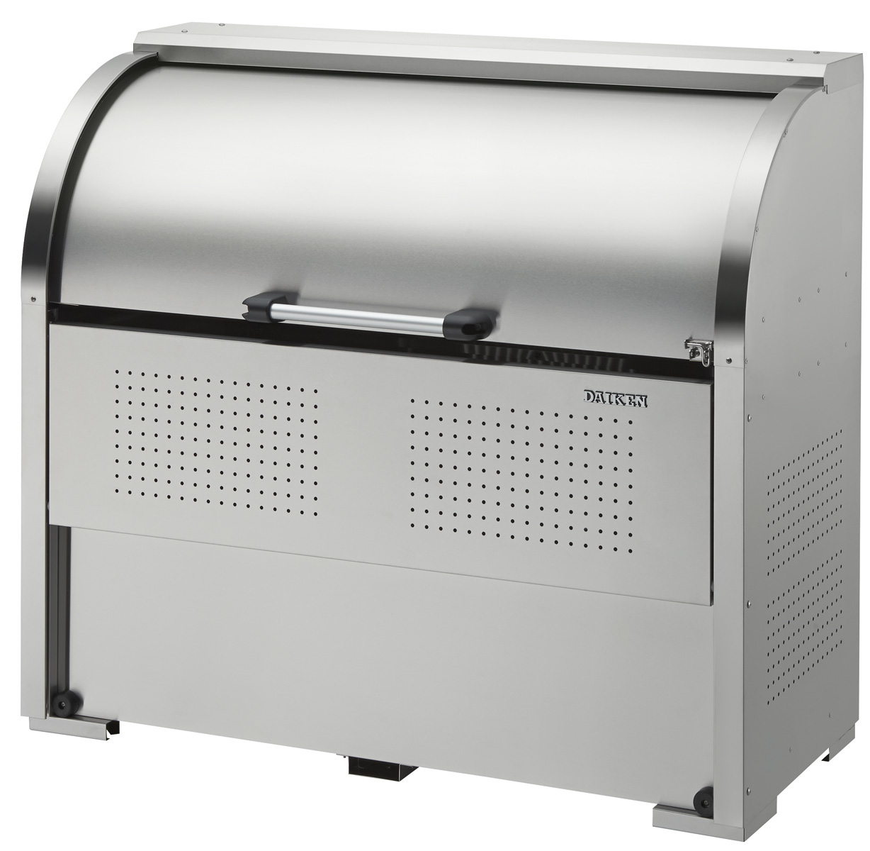 ###u.ダイケン【CKS-1306】ゴミ収集庫 ステンレスタイプ クリーンストッカー CKS-1306型 奥行600mm 容量650L