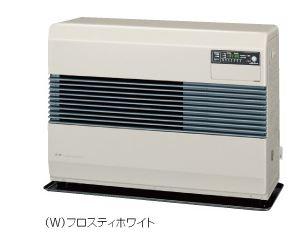 ###コロナ 暖房機器【FF-B7414(W)】フロスティホワイト FF式温風ヒーター(FF式石油暖房機 温風) ビルトインタイプ・防火性能認証品 別置タンク式(タンク別売) ポット式