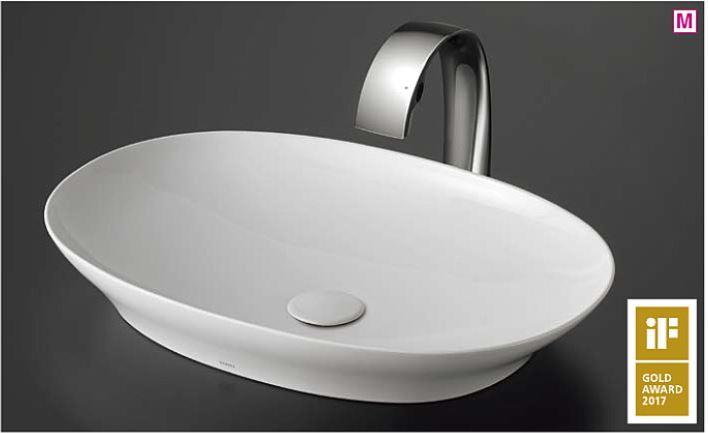 ###TOTO カウンター式洗面器 セット品番【LS902#NW1+TLP01S01J】ベッセル式 ホワイト 台付自動水栓(サーモ・AC100V) 壁排水金具(Pトラップ)