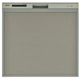 ###リンナイ 食器洗い乾燥機【RSW-C402C-SV】シルバー スライドオープンタイプ