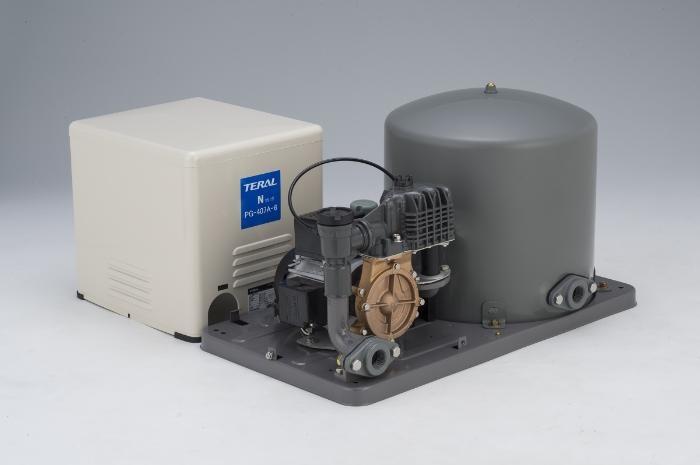 テラル 浅井戸用圧力タンク式PG-A形ポンプ【PG-407A-6】単相100V 400W 60Hz