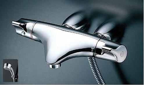 TOTO サーモスタットシャワー金具 レバーハンドル【TMNW40JG1R】シャワーヘッド:ワンダービートクリックめっき