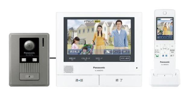 パナソニック どこでもドアホン【VL-SWD701KL】ワイアレスモニター付 テレビドアホン 3-7タイプ