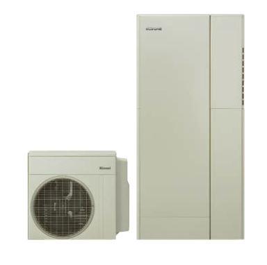 ###リンナイ【RHP-R223(E)+RTU-R1601+RHBH-RJ246AW2-1+RHO-T201-1000】ECOONE ダブルハイブリッド給湯・暖房システム 一体160L