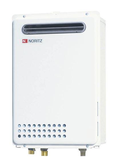 ###♪ノーリツ ガス給湯器【GQ-2439WS-1 BL】給湯専用 オートストップ 屋外壁掛形(PS標準設置形) 24号 リモコン別売 (旧品番 GQ-2437WS BL)