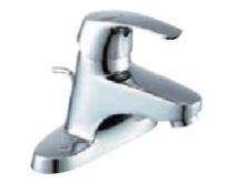 ▽INAX シングルレバー混合水栓 EC/センターセットタイプ【LF-B350SY】ビーフィットポップアップ式(エコハンドル)