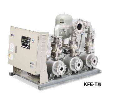 川本 ポンプ【KFE50T7.5】KFE-T形 ポンパーKFE ステンレス製速度制御給水ユニット 3台ロータリー