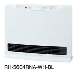 ###ノーリツ【RH-5604RNA-WH-BL】(シルキーホワイト) 温水式ルームヒーター フィーリングホット (旧品番 RH-5604RN-WH-BL)