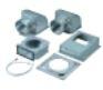 ψパロマ レンジフード 部材【給排セットK】(59562) φ150丸ダクト後方・片側側方・片側上方給排気接続用 電動シャッター式