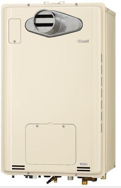 ###リンナイ【RUFH-TE2405AT】ガス給湯暖房用熱源機 PS扉内設置型/PS前排気型 フルオート エコジョーズ 24号 1温度 リモコン別売