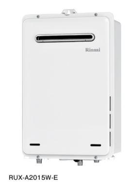 ###リンナイ【RUX-A1615W-E-JE】ガス給湯専用機 給湯専用 屋外壁掛・PS設置型 ユッコ 耐塩害仕様品 16号 リモコン別売