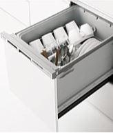 ###クリナップ【ZWPM45M18KDS-E】プルオープン食器洗い乾燥機(シルバー/扉面材タイプ)受注約2週