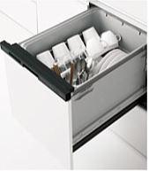 ###クリナップ【ZWPM45M18KDK-E】プルオープン食器洗い乾燥機(ブラック/扉面材タイプ)受注約2週