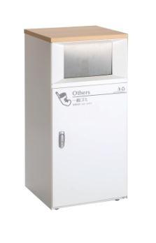 ####u.テラモト【DS-189-510-0】トラッシュボックスFT 一般ゴミ用 受注生産