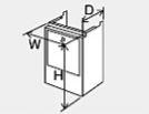 ###♪パーパス 設置用部材【HC-S4536】配管カバー 塩害対策塗装品 現地組立式 防振タイプ