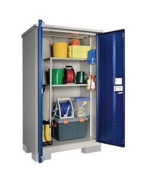 ###u.タクボ物置【HM-117ATDB】小型物置(収納庫) グランプレステージ ドアーズ(開き戸) たて置き 受注生産