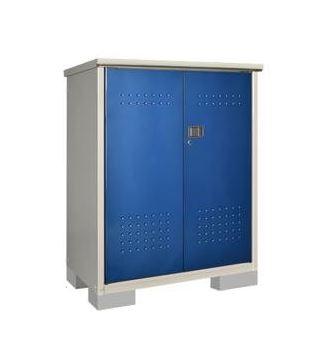###u.タクボ物置【HM-117CTDB】小型物置(収納庫) グランプレステージ ドアーズ(開き戸) たて置き 受注生産
