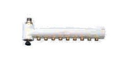 ###♪パーパス 配管接続部材【LH-80F〔*L556〕】ヘッダー 熱動弁なし(金属製) 8系統(9P:1本)