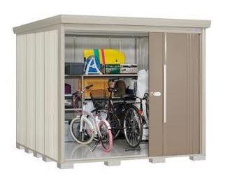 ###u.タクボ物置【ND-2326Y】NDシリーズ Mr.ストックマン ダンディ 中・大型物置 側面棚タイプ 標準屋根 一般型 受注生産