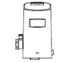 INAX/LIXIL【OKC-A500SCW】大便器自動洗浄システム オートフラッシュC 後付けタイプ(100V) 自動フラッシュバルブ シャワートイレ自動洗浄対応