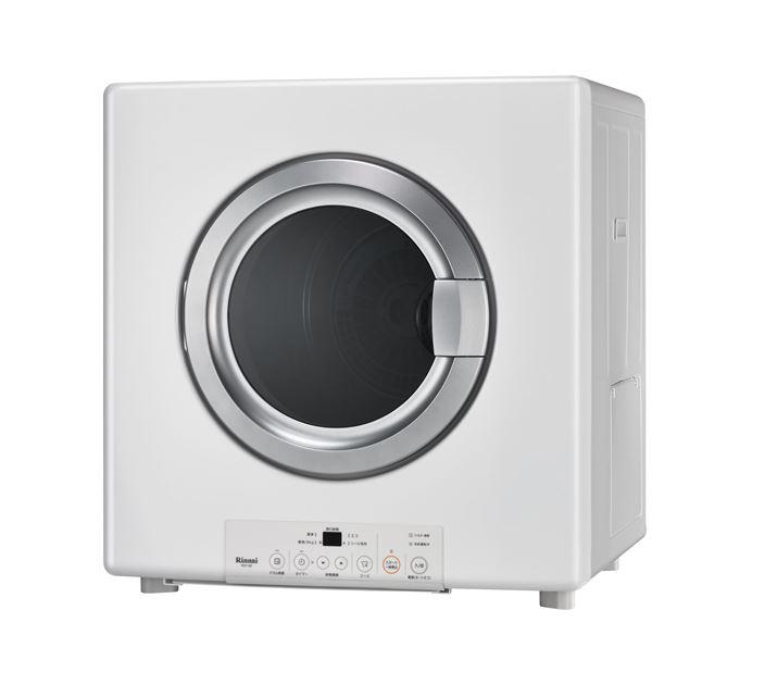 ▽###リンナイ【RDT-80】ガス衣類乾燥機 はやい乾太くん スタンダードタイプ 左右可変ドア 乾燥容量8.0kg ガスコード接続タイプ