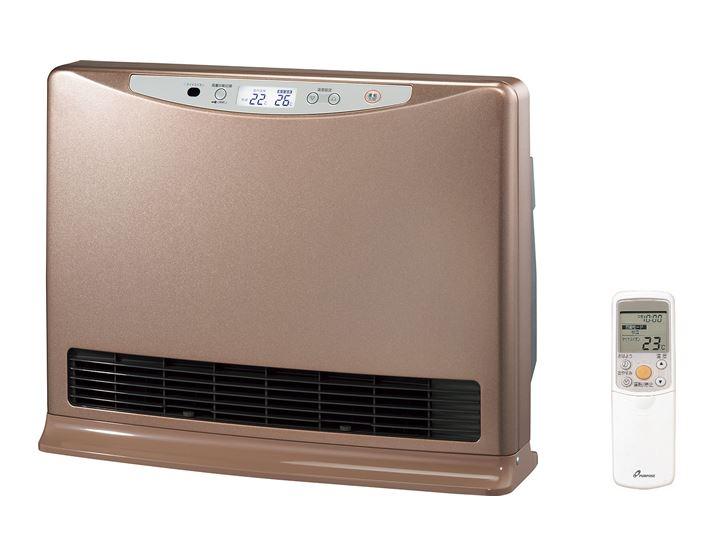 ###♪パーパス 温水ルームヒーター【RH-C520-P】室内機のみ ピンクゴールド 床置・移動型 新築・増改築向 リモコン付属