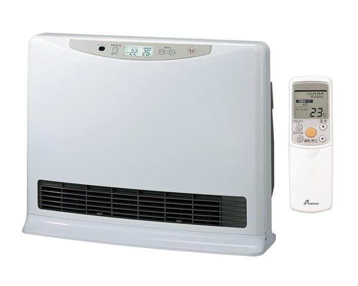 ###♪パーパス 温水ルームヒーター【RH-C520-W】室内機のみ パールホワイト 床置・移動型 新築・増改築向 リモコン付属