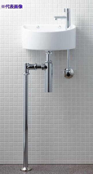 INAX/LIXIL【AWL-33(BS)】狭小手洗器 手洗タイプ(丸形) ハイパーキラミック 床排水(ボトルトラップ) 壁給水 一般地・寒冷地共用