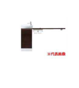###INAX/LIXIL キャパシア【YN-ALLEAAKXHEX】ベッセル型 丸形手洗器 カウンター奥行160 カウンターキャビネットプラン 左仕様 床排水
