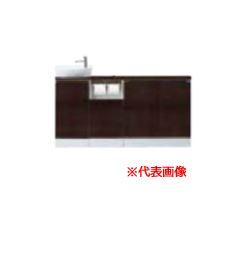 ###INAX/LIXIL キャパシア【YN-ALLEAEKXHJX】ベッセル型 丸形手洗器 カウンター奥行160 フルキャビネットプラン 左仕様 壁排水