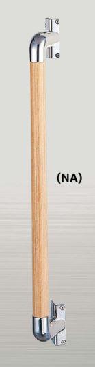 ####u.アシスト/Assist【66-4501(NA)】バリアフリー 手すり φ32 柱角用I型 バー 450mm ウッドナチュラル 積層材