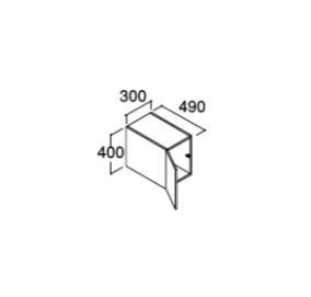 ###INAX/LIXIL ピアラ【ARU-305C】ミドルグレード アッパーキャビネット 間口300mm 受注生産