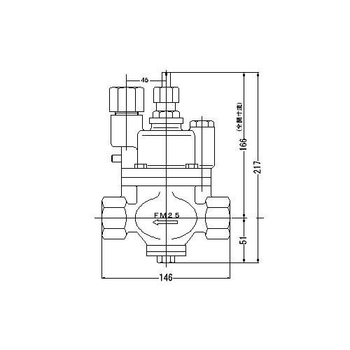 <title>FMバルブ S 3K型 販売 25A FMバルブ製作所 S-3K型 ストレート型 定水位弁 コア内蔵タイプ 取付タイプ ねじ込み型 Rc 本体材質:CAC901</title>