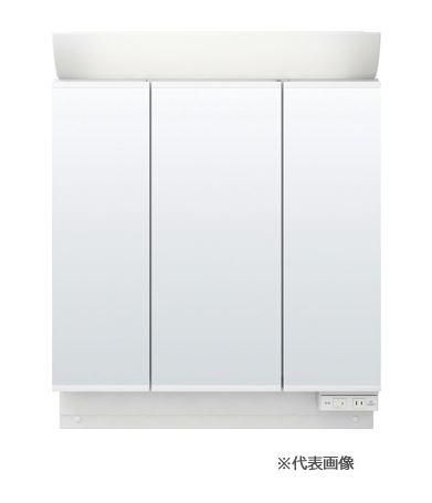 ###INAX/LIXIL ピアラ【MAR2-903TXSU】ミラーキャビネット LED照明 3面鏡 スタンダードLED 全高1,900mm用 全収納 くもり止めコート付 間口900mm