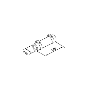 TP 新商品 SLACK ### パーパス 給湯器 TP-SLACK 1ヶ 送料無料 一部地域を除く 接続金具 部材