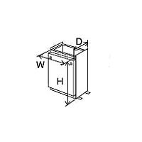 ###♪パーパス 設置用部材【SD-5505L】据置台(ロングタイプ) 塩害対策塗装品