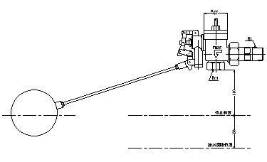 FMバルブ製作所【FMボールタップ 3FB一体型 25A】取付タイプ:ねじ込み型(R) 本体材質:CAC901