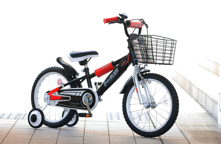 ###ω池商マイパラス/MYPALLAS【MD-10BK】ブラック子供用自転車16インチ