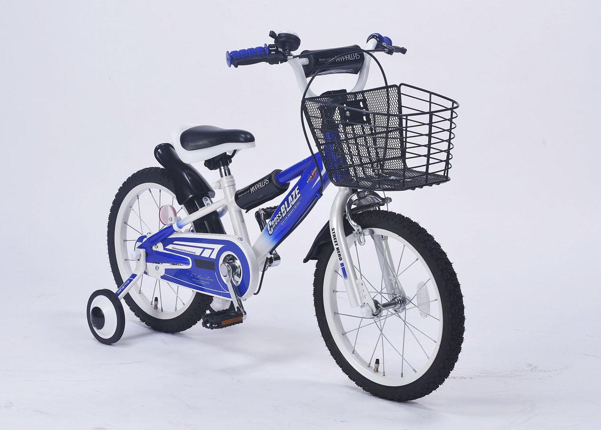 ###ω池商 マイパラス/MYPALLAS【MD-10 BL】ブルー 子供用自転車16インチ