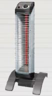 ##ダイキン 遠赤外線暖房機 セラムヒート【ERKS10NS】床置スリム形 自動首振タイプ 工場・作業所用 (単相100V) 1kW