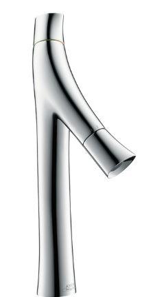 ハンスグローエ【12012000】アクサースタルクオーガニック 2ハンドル洗面混合水栓 365 (ポップアップ引棒無)