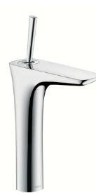 ハンスグローエ【15081000】プラビダ シングルレバー洗面混合水栓 200 クロム (ポップアップ引棒無)