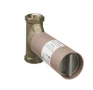 ハンスグローエ 埋込パーツ【15970180】埋込部 止水栓用スピンドルバルブ 130L/min ''3/4 回転規制なし