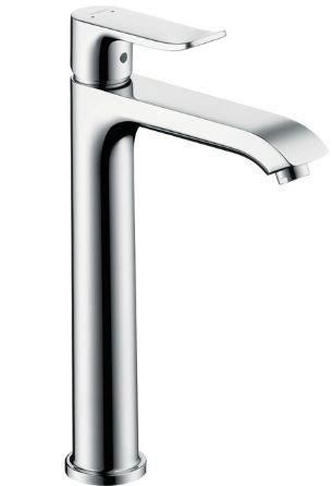 ハンスグローエ【31183000】メトリス シングルレバー洗面混合水栓 200 (ポップアップ引棒有)